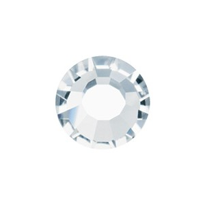 Metal Banding 4 Row Crystal/Silver